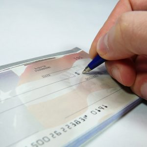 Cheque check writing system amaris Solutions